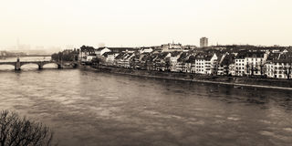 Basel Water Front Royalty Free Stock Images