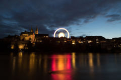 Basel Wheel Royalty Free Stock Photography