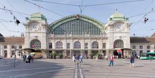 Baseljärnvägsstation Royaltyfri Foto