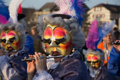 Baselkarneval Arkivbilder