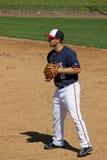 Baseman di Brian Dozier Minnesota Twins Second fotografia stock