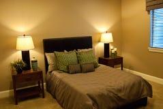 Basement bedroom Stock Photography
