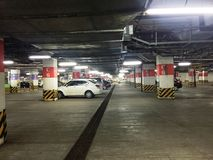 Basement Car Parking Stock Photos
