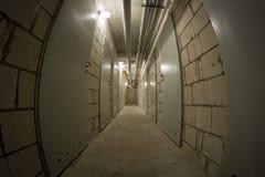 Basement corridor Stock Photos