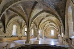 basement de Μαρία υπόγειος θάλαμος santa poblet μοναστηριών Στοκ Φωτογραφία