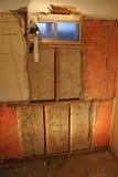 Basement Drywall Repair Royalty Free Stock Photo
