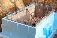 Basement_insulation стоковые изображения rf