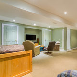 Basement Interior design Royalty Free Stock Image