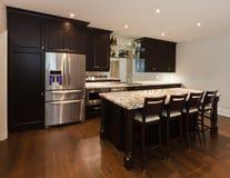 Basement kitchen Stock Images