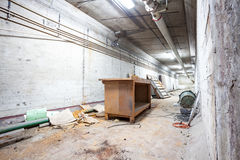 In a basement of an old building Stock Images
