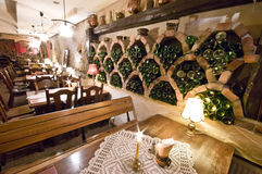 basement restaurant Στοκ φωτογραφία με δικαίωμα ελεύθερης χρήσης