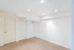 Basement room interior design Stock Photos