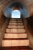 Basement steps Stock Photography