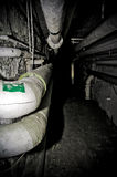 Basement tunnel Royalty Free Stock Photos