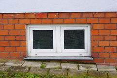 Basement windows Royalty Free Stock Image