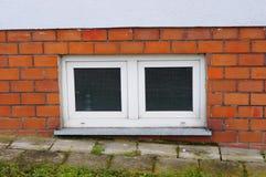 Basement windows Royalty Free Stock Image
