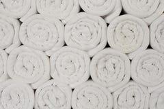Basenów pływaccy Ręczniki tekstura, tło Obrazy Royalty Free
