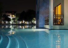 basen balkonowa strona Fotografia Royalty Free