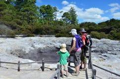 basen geotermiczna kraina cudów Fotografia Royalty Free