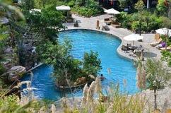 basen gorąca wiosna Obrazy Royalty Free