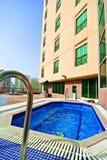 basen hotelowy Zdjęcia Royalty Free
