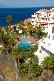 basen hotelowy oceanu Zdjęcie Royalty Free