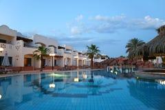 basen hotelowy opływa Fotografia Stock