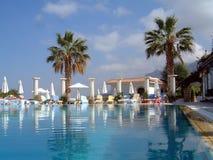 basen hotelowy opływa Obrazy Royalty Free