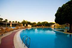 basen hotelowy opływa Zdjęcia Stock