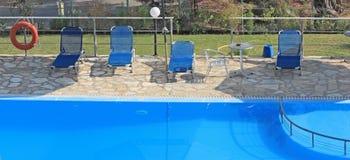 basen hotelowy opływa Zdjęcie Stock