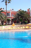 basen hotelowy zrelaksować Obrazy Royalty Free