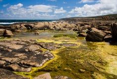 basen nabrzeżna skała Zdjęcia Royalty Free