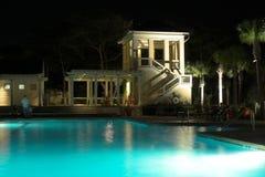 basen noc Obrazy Royalty Free