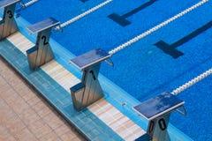basen olimpijski opływa obraz royalty free