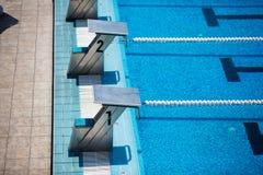 basen olimpijski opływa zdjęcia royalty free