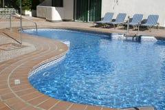 basen opływa Obrazy Royalty Free