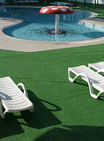 basen pieczarkowy opływa Fotografia Royalty Free