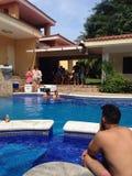 basen relaksuje Zdjęcia Royalty Free