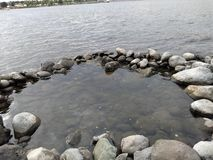 Basen rzeka zdjęcie royalty free