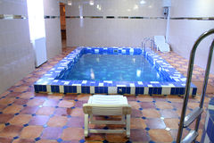 basen, sauna Fotografia Stock