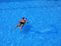 basen się odprężyć Fotografia Royalty Free