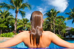 basen tropikalny Obrazy Royalty Free