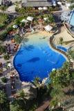 Basen w Jumeirah plaży hotelu fotografia stock