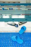 basen w ligustr szkole w Moskwa fotografia royalty free