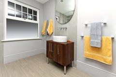 basenowa łazienka Zdjęcia Royalty Free