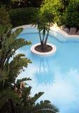 basenu błękitny dopłynięcie zdjęcia stock