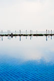 basenu biel pływacki parasolowy Zdjęcia Royalty Free