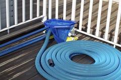 Basenu cleaning dostawy Zdjęcia Royalty Free