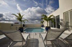 basenu dachu wierzchołek Obraz Royalty Free