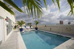 basenu dachu wierzchołek Fotografia Royalty Free